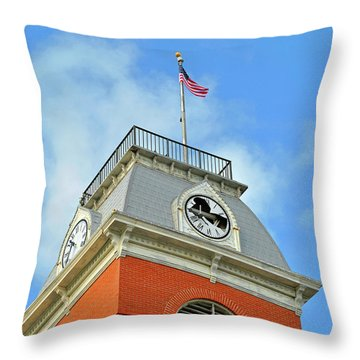 Throw Pillow featuring the photograph Broken Time by Jost Houk