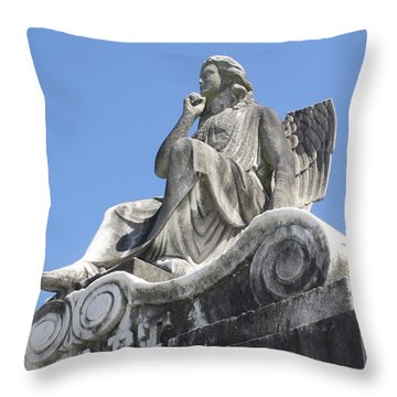 Broken Wing Throw Pillow by Tbone Oliver