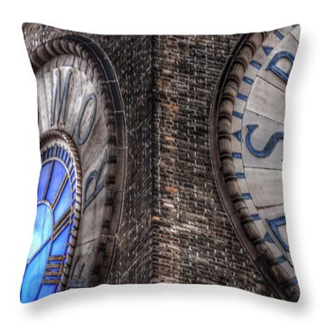 Bromo Seltzer Tower Clock Face #2 Throw Pillow