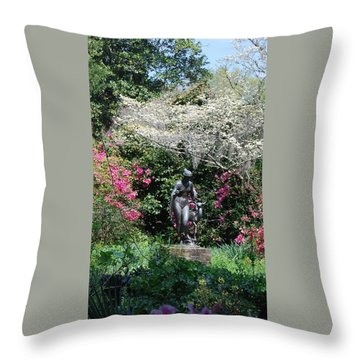 Brookgreen 3 Throw Pillow by Gordon Mooneyhan
