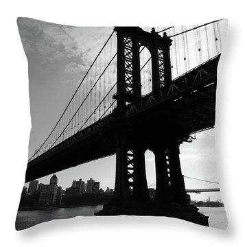 Brooklyn Bridge 2nyc  Throw Pillow
