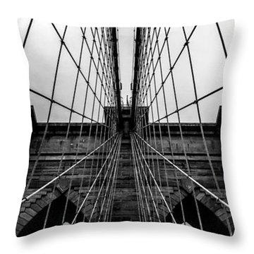 Brooklyn's Web Throw Pillow