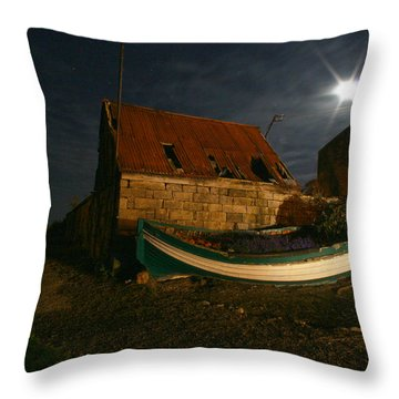 Brora Boat House Throw Pillow