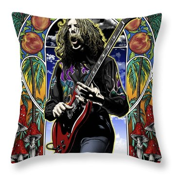 Brother Duane Throw Pillow by Gary Kroman