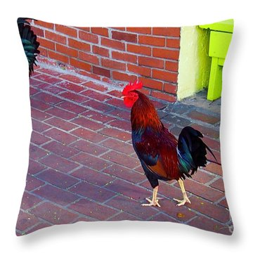 Brother Rosters Throw Pillow