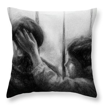 Brotherhood Throw Pillow by Celso Bressan