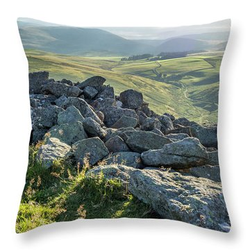 Brough Law View Throw Pillow
