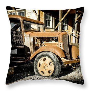 Vintage 1935 Chevrolet Throw Pillow