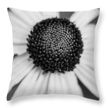 Brown Eyed Susan Throw Pillow