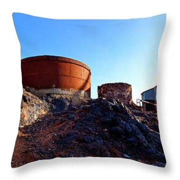 Lead Mine Throw Pillows