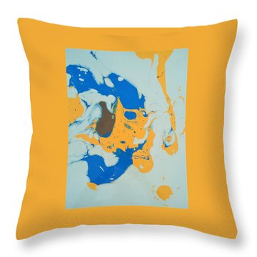 Brownie Baby Bird Throw Pillow