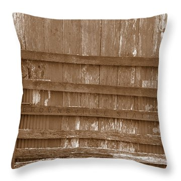 Brownsville Station Throw Pillow
