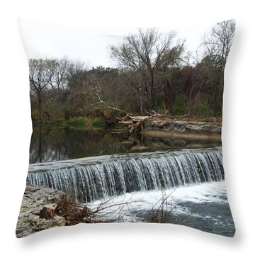 Brushy Creek 2-21-16 Throw Pillow