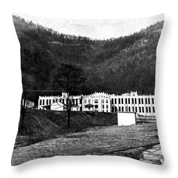 Brushy Mountain 1 Throw Pillow