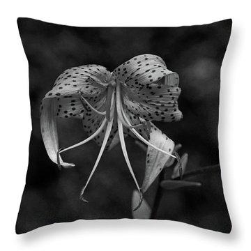 Brutally Beautiful Throw Pillow