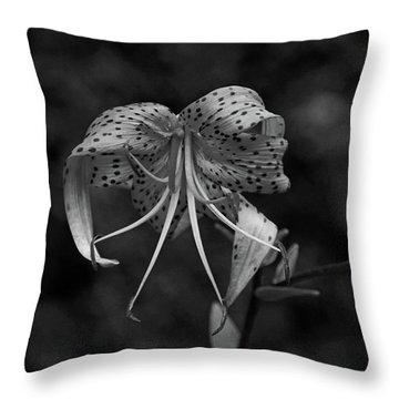 Brutally Beautiful Throw Pillow by Michiale Schneider