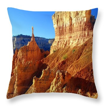 Bryce 4 Throw Pillow by Marty Koch