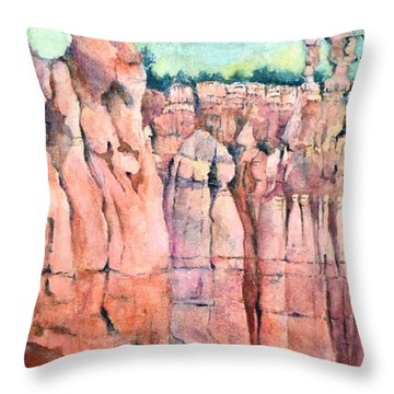 Bryce Canyon #1  Throw Pillow