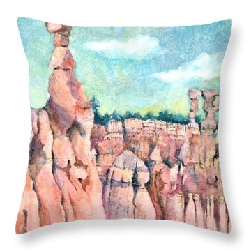 Bryce Canyon #1  Throw Pillow