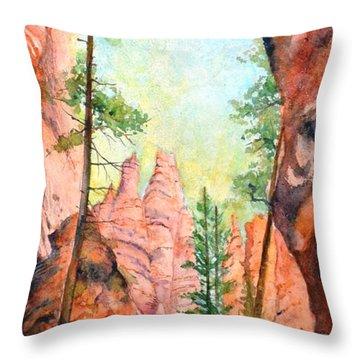 Bryce Canyon #2 Throw Pillow