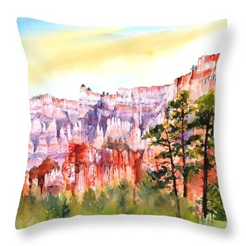 Bryce Canyon #3 Throw Pillow
