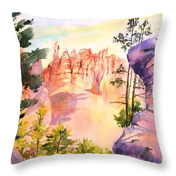Bryce Canyon #4 Throw Pillow