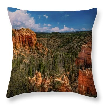 Bryce Canyon From The Top Throw Pillow
