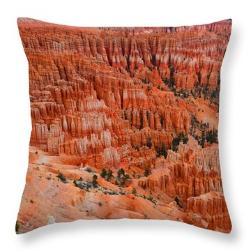 Bryce Canyon Megapixels Throw Pillow