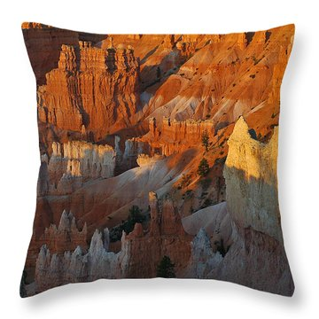 Bryce Canyon Morning Throw Pillow by Bruce Gourley