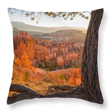 Bryce Canyon National Park Sunrise 2 - Utah Throw Pillow by Brian Harig