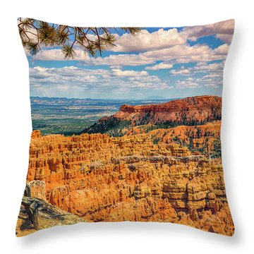 Bryce Canyon Overlook Throw Pillow