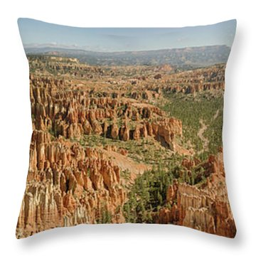 Bryce Canyon Panorama Throw Pillow