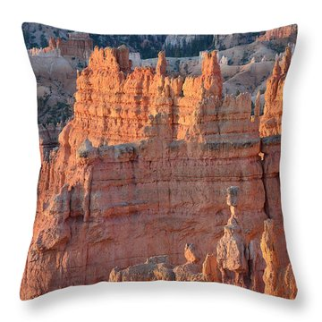 Throw Pillow featuring the photograph Bryce Canyon Sunrise 2016a by Bruce Gourley