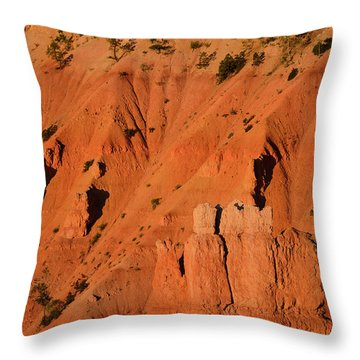 Throw Pillow featuring the photograph Bryce Canyon Sunrise 2016b by Bruce Gourley