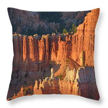 Throw Pillow featuring the photograph Bryce Canyon Sunrise 2016c by Bruce Gourley