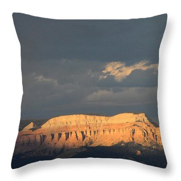 Bryce Canyon Thunderstorm  Throw Pillow