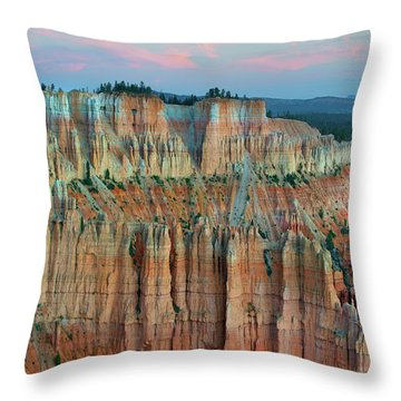 Bryce Canyon Throw Pillow by Tim Fitzharris