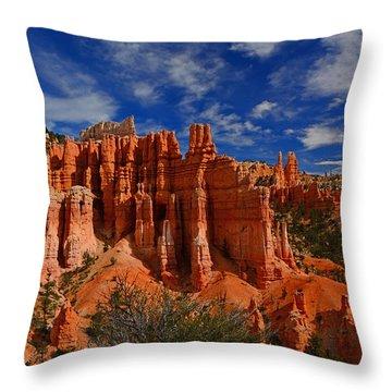 Bryce Hoodoos 2 Throw Pillow