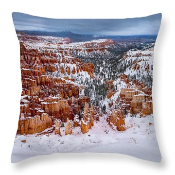 Bryce Inspiration Throw Pillow
