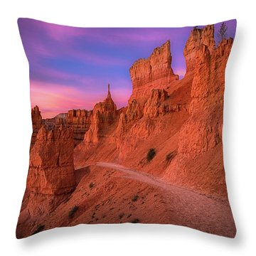 Bryce Trails Throw Pillow