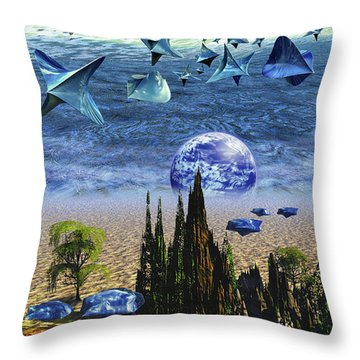 Brycemania Throw Pillow