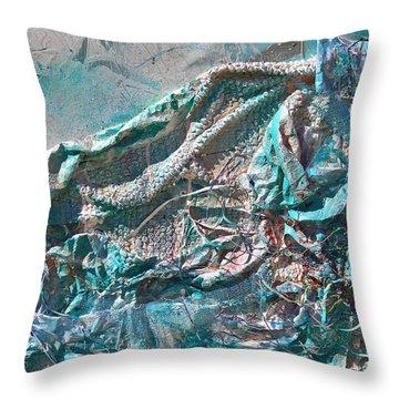 Bubble Abstract #81817 Throw Pillow