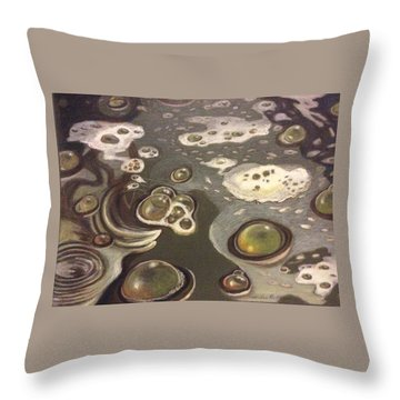 Bubble Boil And Trouble 1 Throw Pillow