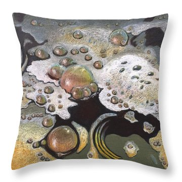 Bubble, Bubble, Toil And Trouble 2 Throw Pillow