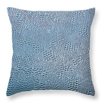 Bubble Glass Dream Throw Pillow