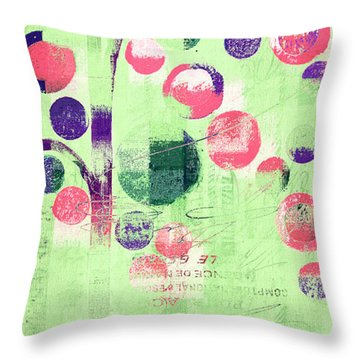 Throw Pillow featuring the photograph Bubble Tree - 224c33j5r by Variance Collections