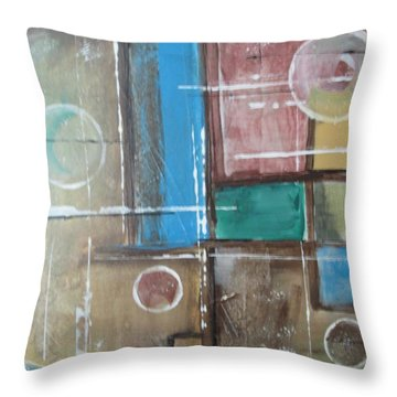 Bubbles In The Air Throw Pillow