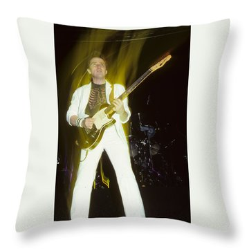 Buck Dharma Of Blue Oyster Cult Throw Pillow