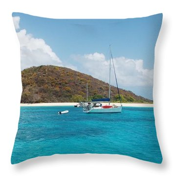 Buck Island Reef National Monument Throw Pillow