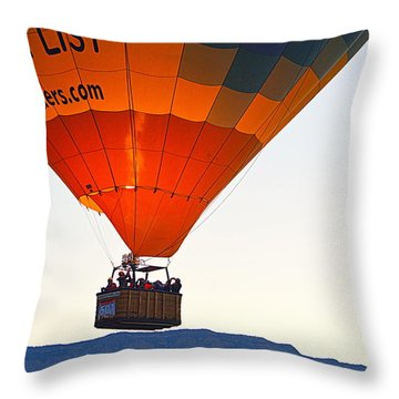 Throw Pillow featuring the photograph Bucket List by AJ Schibig